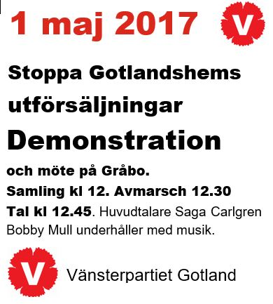 Demonstrera 1 maj